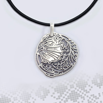 Bozhana - Silver Necklace